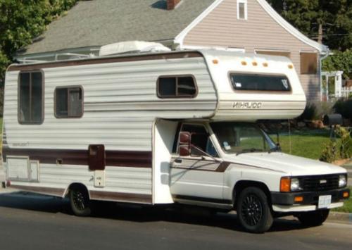 Дом на колесах идеально подходит для клопов