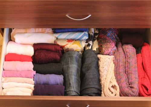Клопы могут жить в шкафах с одеждой